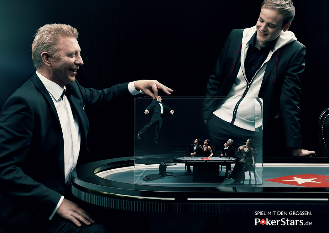 Boris Becker Testionial Pokerstars
